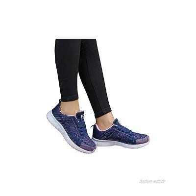 Sportschuhe Damen Mesh Rundkopf Kreuzgurte Outdoor Schuhe Frauen Flachboden Übung Atmungsaktive Leichte Laufschuhe Frauen Wanderschuhe Frauen