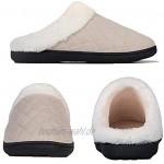 Herren Damen Winter Hausschuhe Memory Foam Wärme Bequem Plüsch Pantoffeln Home rutschfeste Slippers Schuhe Indoor Outdoor