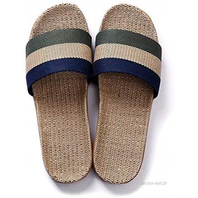 Unisex Sommer Hausschuhe Indoor-Haus Anti-Rutsch Dusche Badeschuhe Schlappen rutschfest Pantoffeln Gartenschuhe Home Slippers Schuhe Sandaeln C 42-43