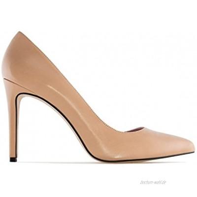 Andrés Machado Pumps für Damen Mädchen aus Leder Diana Stiletto High Heels Made IN Spain -.EU 32 bis 35 42 bis 45