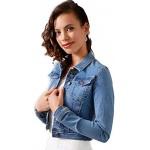 Lilly Brautjacke Jacke Spitze Jeansjacke Braut Ivory Bolero Neu Creme XS S M L XL Jeans