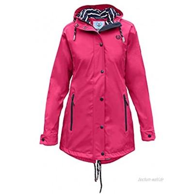 MADSea Damen Regenmantel Friesennerz Pink