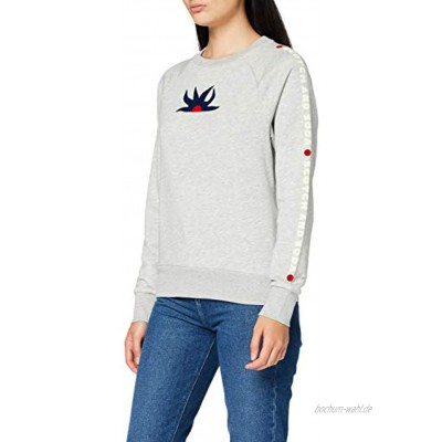 Scotch & Soda Damen Sweat with Various Artworks Sweatshirt