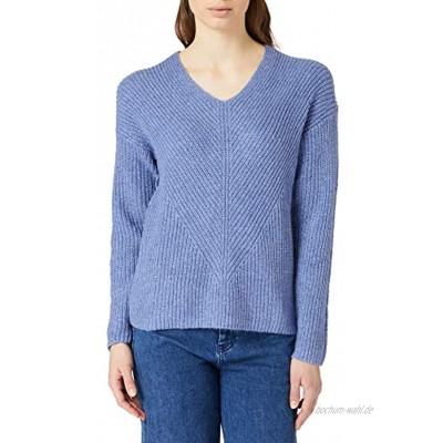 TOM TAILOR Damen Chunky V-Ausschnitt Pullover