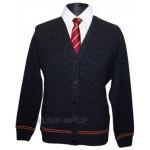 Harry Potter Gryffindor Cardigan Hogwarts Uniform direkt vom Filmausstatter Lammwolle Made in Schottland