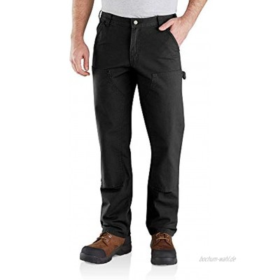 Carhartt Herren Rugged Flex Relaxed Fit Duck Double Front Dungaree Arbeitshose