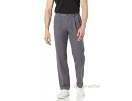 Essentials Herren pants Slim-fit Wrinkle-resistant Flat-front Chino Pant
