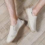 MAIAMY Herren Flats Schuhe Frühling Herbst Canvas Schuhe Stilvolle leichte Espadrilles Anti-Rutsch-Schuhe Freizeit Freizeitschuhe