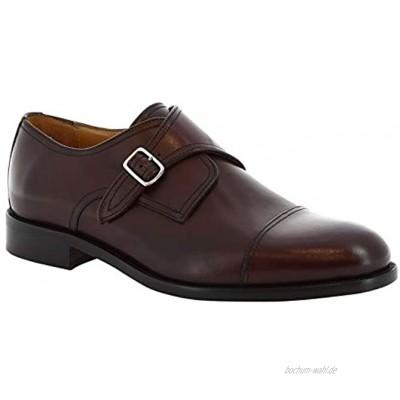 Leonardo Shoes 08043 NAIROBI BORDO Herren Slipper & Mokassins