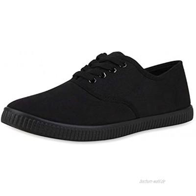 Giralin Herren Sneaker Low Basic Canvas Schuhe Stoff Turnschuhe Schnürer Freizeitschuhe
