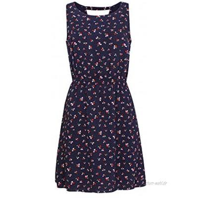 TOM TAILOR Denim Damen Blumenmuster Kleid