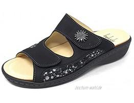 Belvida Damen Pantolette in Schwarz Größe 39